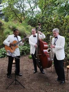 Ritz Trio, Botanic Gardens Edinburgh,