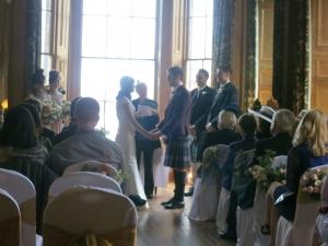 wedding at Achnagairn House