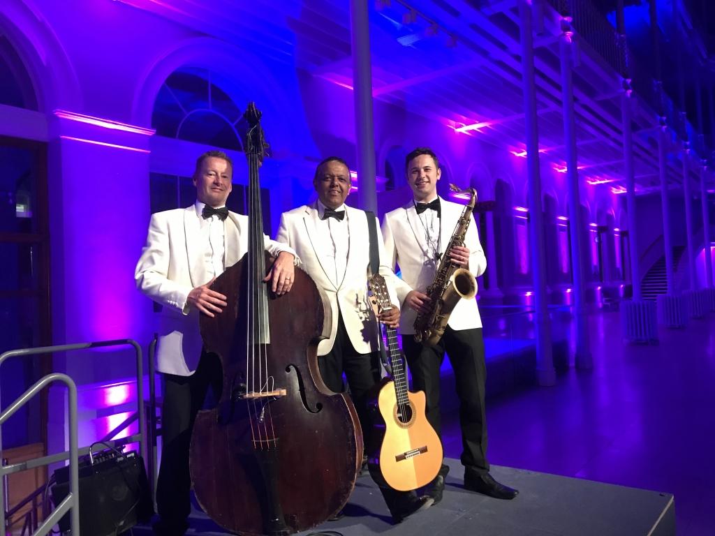 Ritz Trio, National Museum Of Scotland, Corporate event at National Museum Of Scotland,