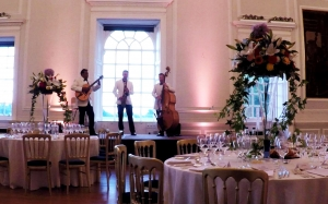 Corporate event at Hopetoun House - Ritz Trio