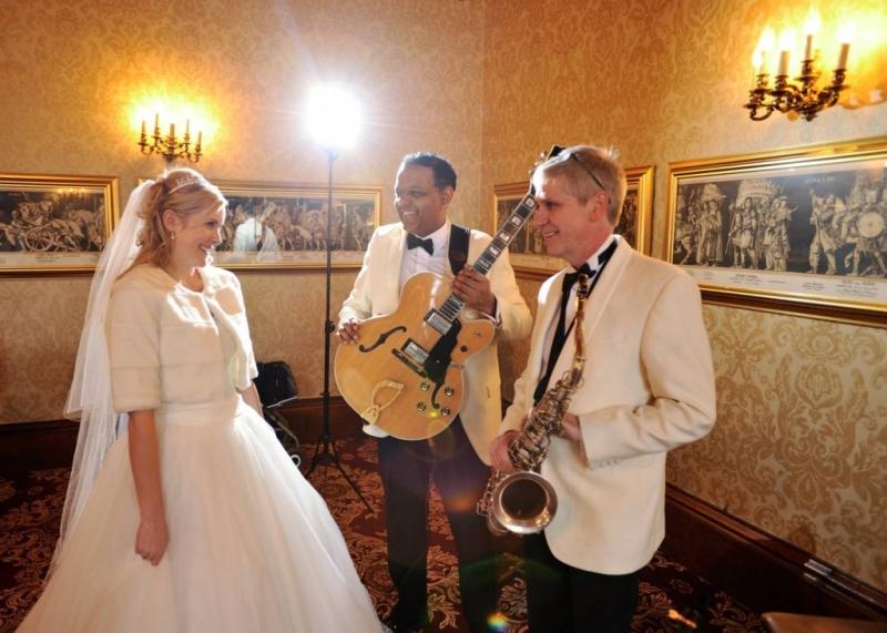 Ritz Trio at Dalhousie Castle