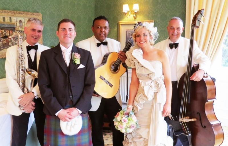 Wedding at Balbirnie, Ritz Trio
