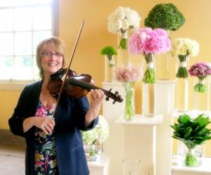 Violinist Trudie Ford