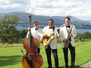 The Ritz Trio at Boturich Castle