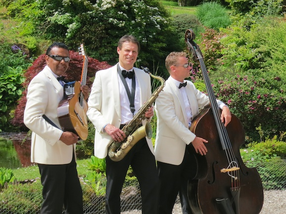 Ritz Trio wedding band at Mount Stuart Bute