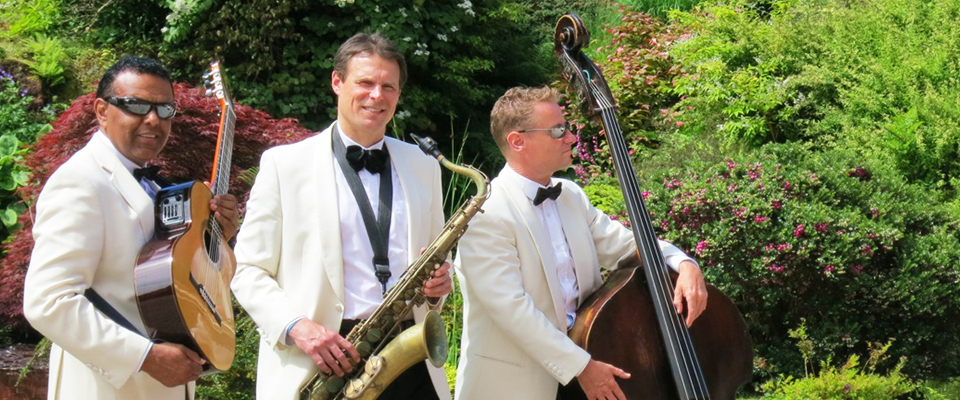 Ritz Trio wedding band at Mount Stuart Bute