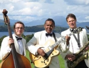 Ritz Trio playing at a wedding at Boturich Castle