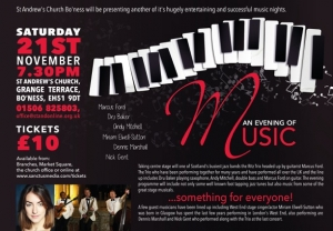Concert flyerA5