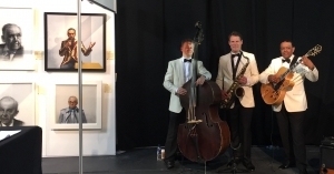 Ritz Trio at Glasgow Contempory Art Fair