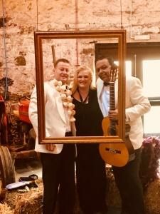 kinkell byre wedding Ritz Trio