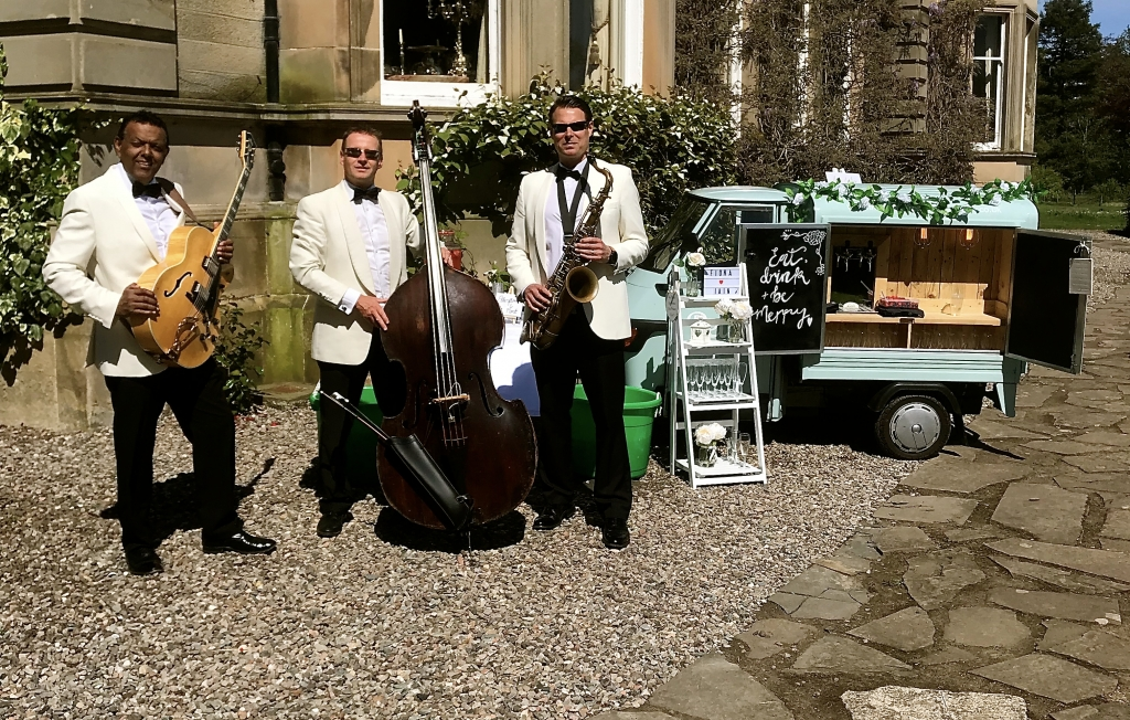 Daytime wedding entertainment Errol Park Scotland