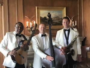 The Ritz Trio wedding band performing at the Old Course Hotel St Andrew's