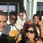 Guests with the Ritz Trio - Waterside Hotel