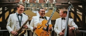 how to book a wedding band - ritz trio