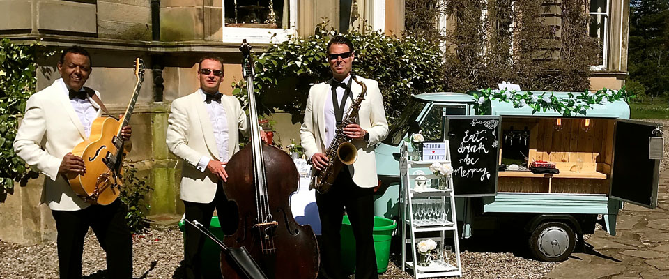 Wedding Drinks Reception and Events Jazz Band