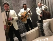 daytime wedding entertainment band