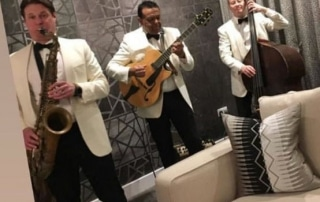 daytime wedding entertainment band