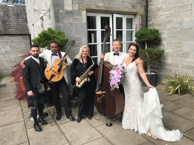 The Parsonage at Dunmore Park - Wedding Entertainment