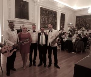 Corporate Event at Hoptoun House - Ritz Trio