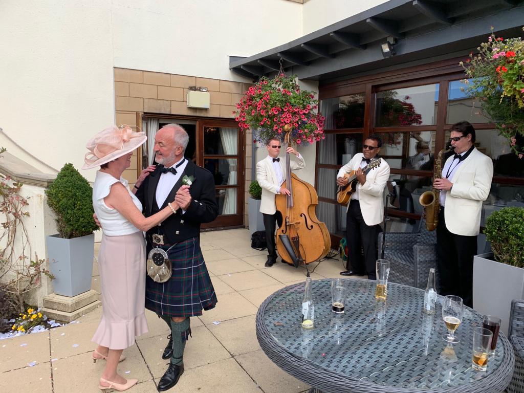 daytime entertainment band in Glasgow