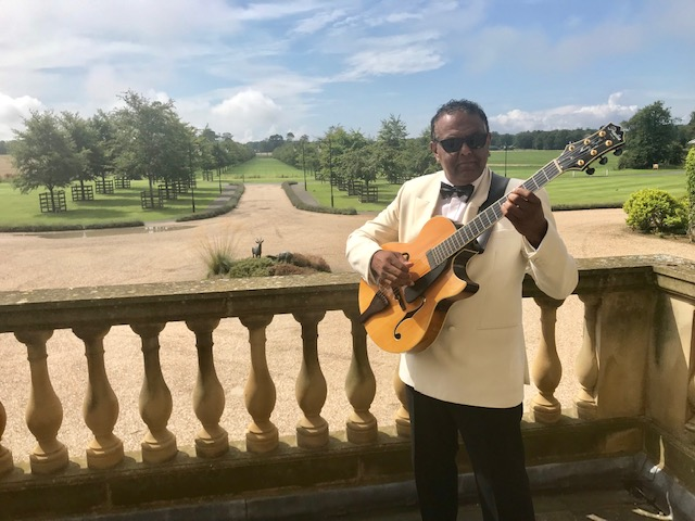 Marcus Ford Guitarist performing at Archerfield House East Lothian
