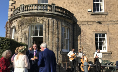 Gilmerton House Wedding Entertainment with the Ritz Trio