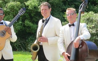 Royal Botanic Garden Edinburgh Wedding Entertainment band Ritz Trio