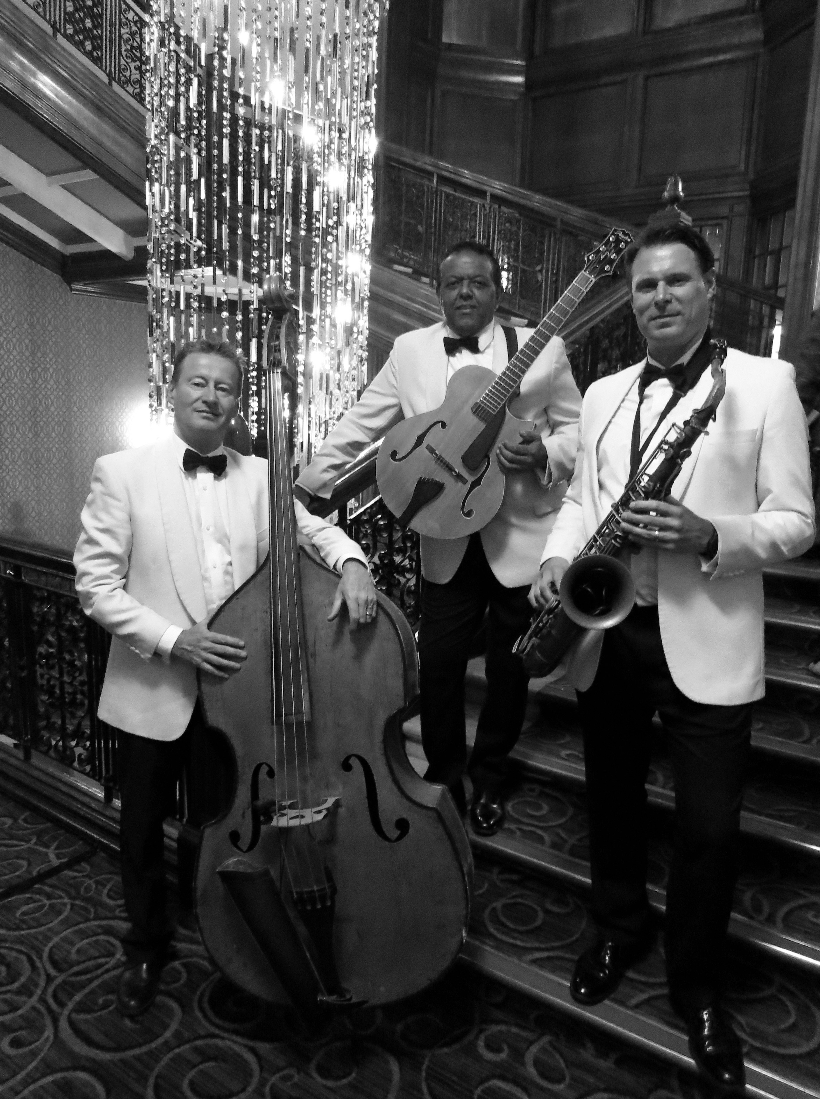 peaky blinders band ideas in Scotland the Ritz Trio band