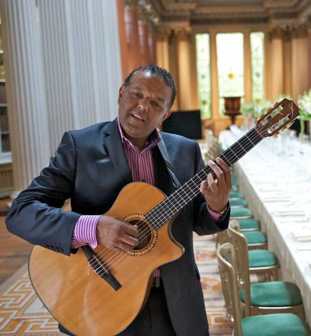 solo wedding guitarist in Scotland Marcus Ford at the Signet Library