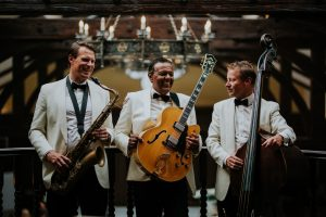 jazz band in Aberdeen for weddings the Ritz Trio