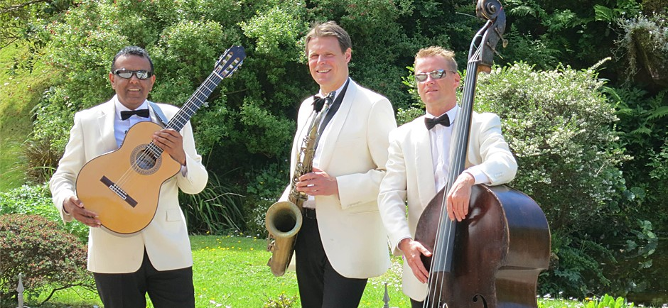 Ritz Trio at a Lunga House Wedding