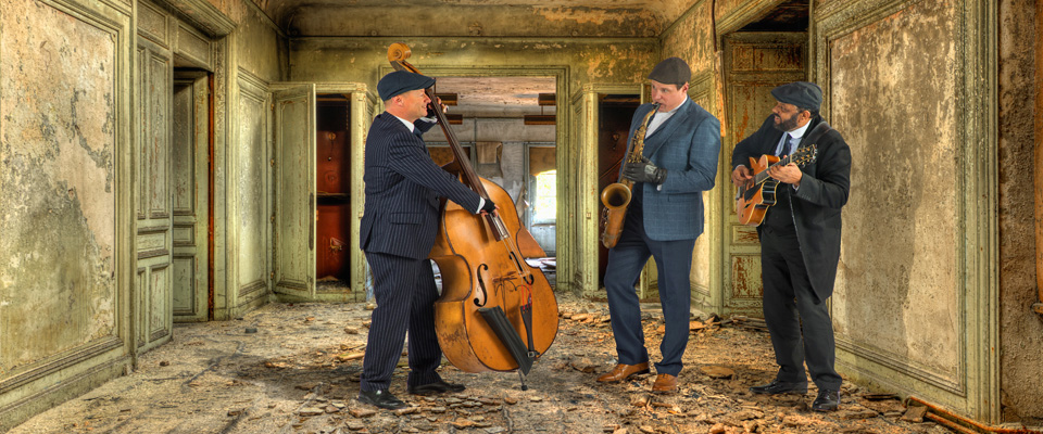 Ritz Trio ideal for barn weddings