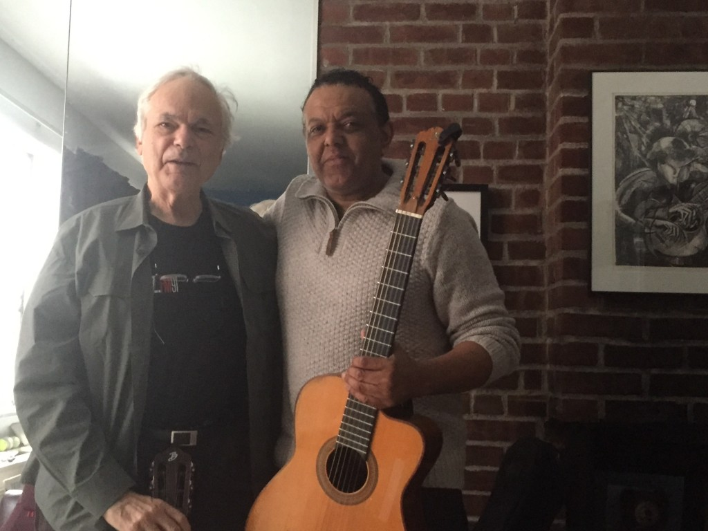 Marcus Ford meets top New York guitarist Gene Bertoncini