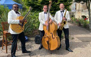 Balbirnie House wedding band